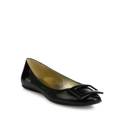 Gommette Patent Leather Flats