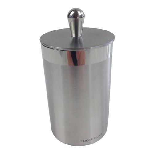 Stainless-Steel Toothpick Holder