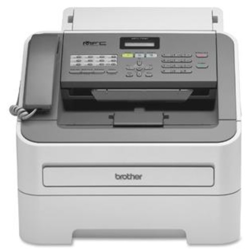 Brother MFC-7240 Laser Multifunction Printer - Monochrome - Plain Paper Print - Desktop - Copier/Fax/Printer/Scanner - 21 ppm Mono - TD