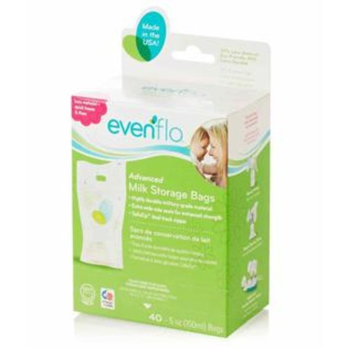 Evenflo Advanced Milk Storage Bags - 5 Ounce - 40 Count