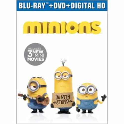 Minions [Blu-Ray] [DVD] [Digital HD]