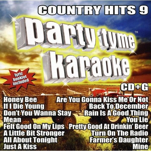 Party Tyme Karaoke - Country Hits 9 [CD + G]