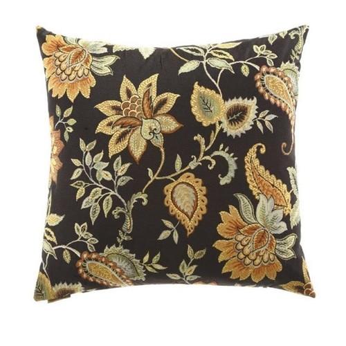 Floral Veranda Decorative Down Fill Throw Pillow