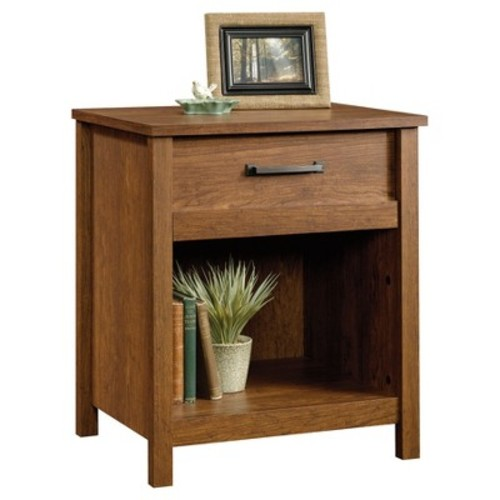 Sauder Cannery Bridge Night Stand, Milled Cherry