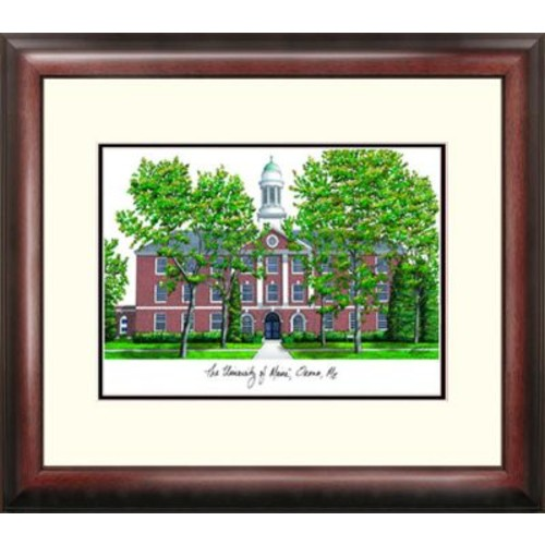 Campus Images Alumnus Lithograph Framed Photographic Print; Maine Black Bears