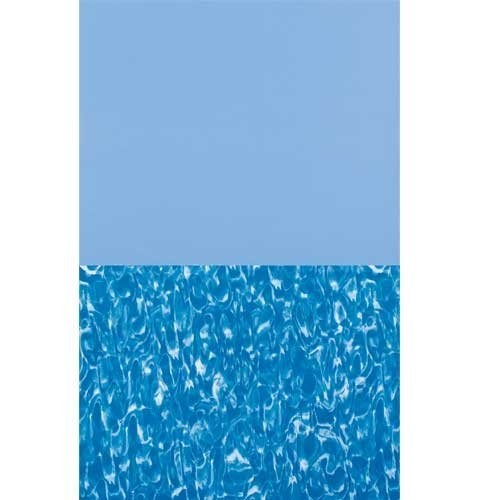 12-ft. Round Overlap Above Ground Pool Liner - Swirl Floor - 20-Gauge