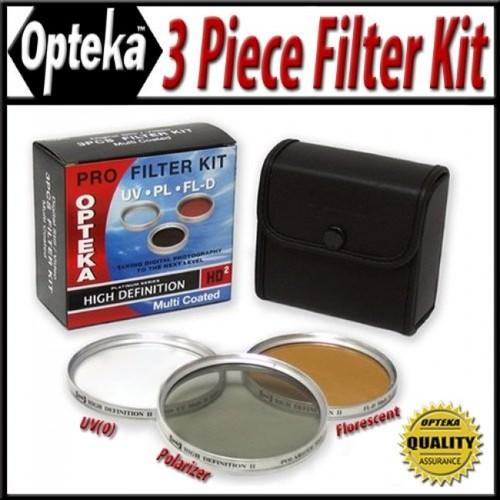 Opteka HD2 Filter Kit for Sony DCR-DVD910, DVD810, DVD710, DVD610, SR220, SR85, SR65, SR45, SR42, SR10, UX20, UX10, HC62