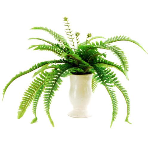 Fern Desk Top Plant in Decorative Vase