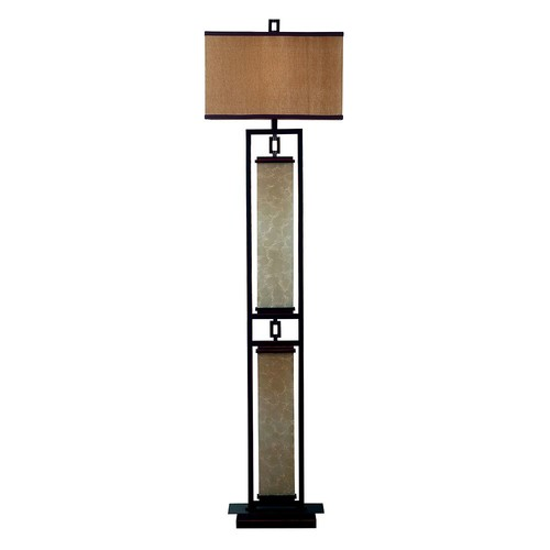 Kenroy Home Plateau 61 in. Oil-Rubbed Bronze Floor Lamp