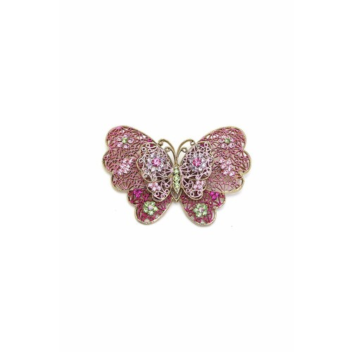 Diane's Accessories Butterfly Pin Pink