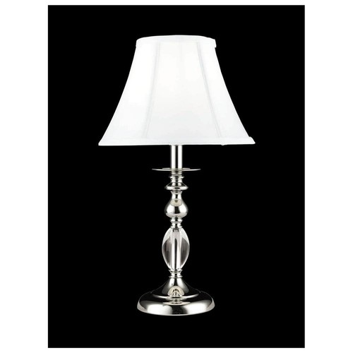 Dale Tiffany GT10170 1 Light Table Lamps - Polished Chrome