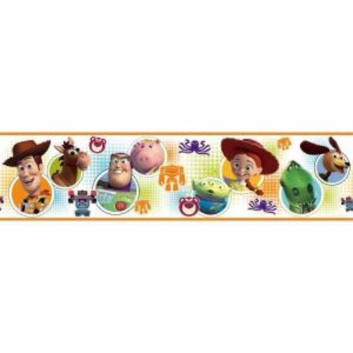 RoomMates Toy Story 3 Peel and Stick Wallpaper Border