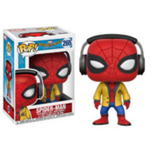 POP! Movies: Spider-Man Homecoming - Spider-Man with Headphones