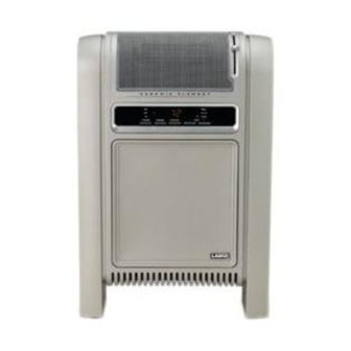 Lasko Products Cyclonic Ceramic Cabinet Electric Space Heater with Adjustable Thermostat - 758000