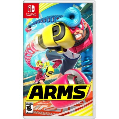 ARMS - Nintendo Switch [Disc, Standard, Nintendo Switch]