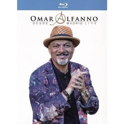 Omar Alfanno: Desde Madrid - Live [CD/Blu-ray] [Blu-ray] [2015]