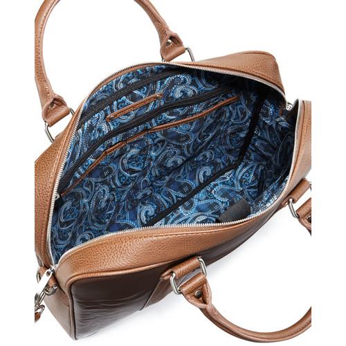Robert GrahamRoman Leather Briefcase, Brown