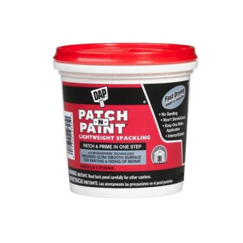 DAP Patch-N-Paint 1/2 pt. White Lightweight Spackling (24-Pack)