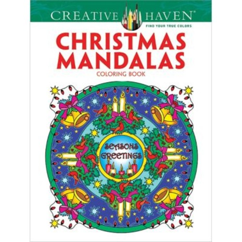 Creative Haven Christmas Mandalas Coloring Book, Paperback