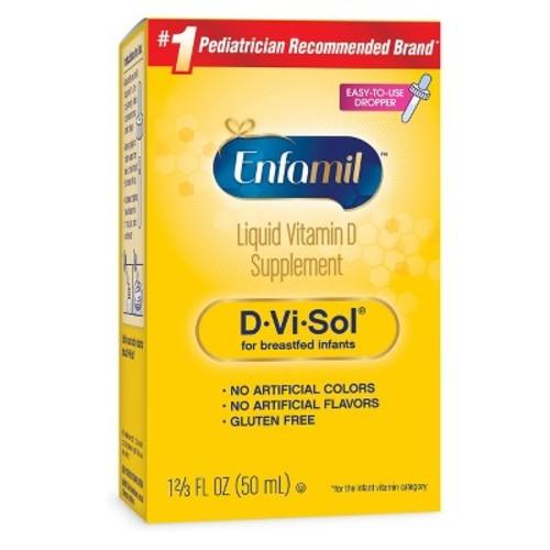 Enfamil D-Vi-Sol Vitamin D Supplement Drops for Infants - 1.69 oz