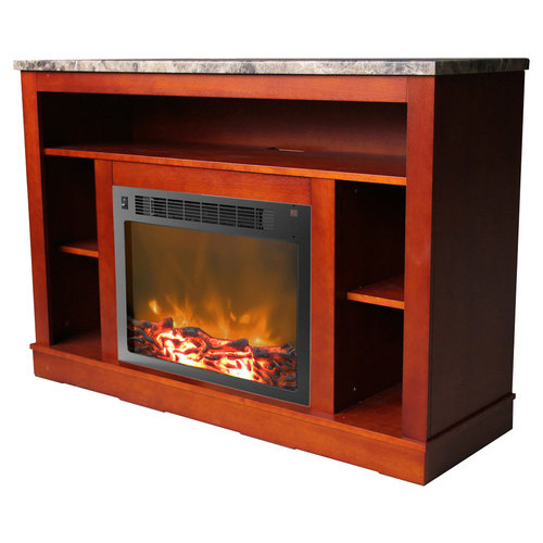 Cambridge - Seville Electric Fireplace for Most Flat-Panel TVs Up to 50