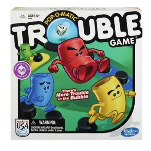 Hasbro Classics Game, Pop-O-Matic Trouble