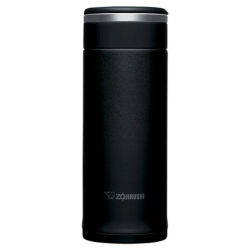 Zojirushi Stainless Steel Vacuum Mug with SlickSteel Finish - Black, 12 oz.
