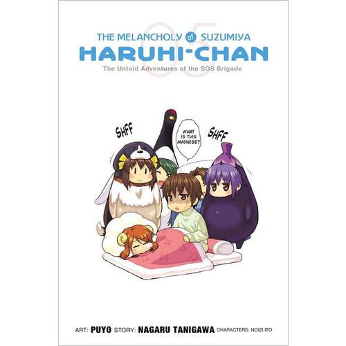 The Melancholy of Suzumiya Haruhi-chan, Volume 5