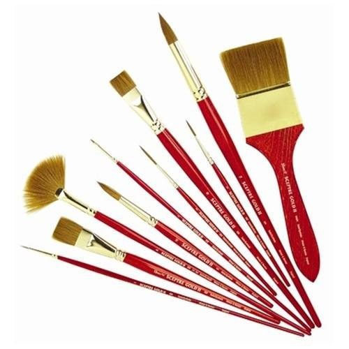 Sceptre Gold II Series 202 Designer Round Brush (Set of 3) - Size: 2 (Set of 3)