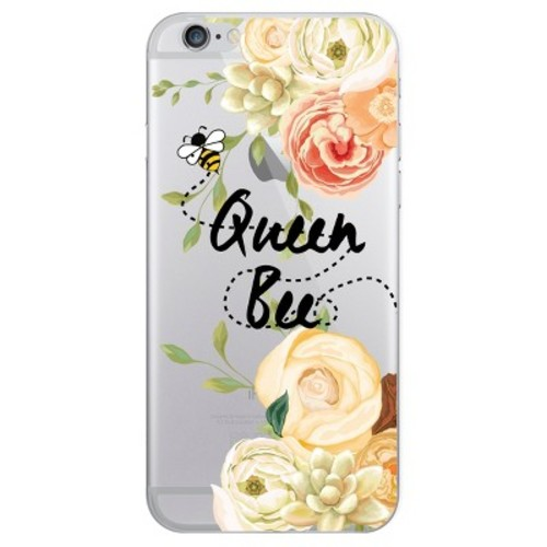iPhone 6/6S/7/8 Case Hybrid Queen Bee Clear - OTM Essentials