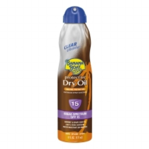 Banana Boat UltraMist Continuous Spray Sunscreen, Protective Dry Oil, SPF 15