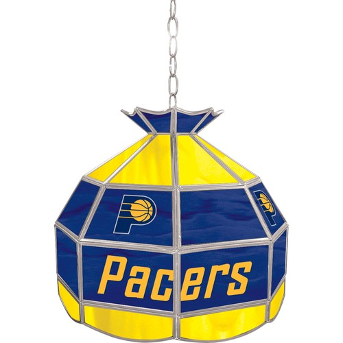 NBA(CANONICAL) Indiana Pacers 16 inch Stained Glass Tiffany Style Lamp