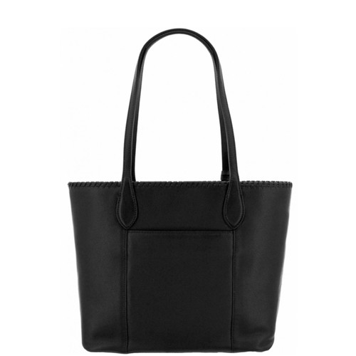 Black Medallion Tote