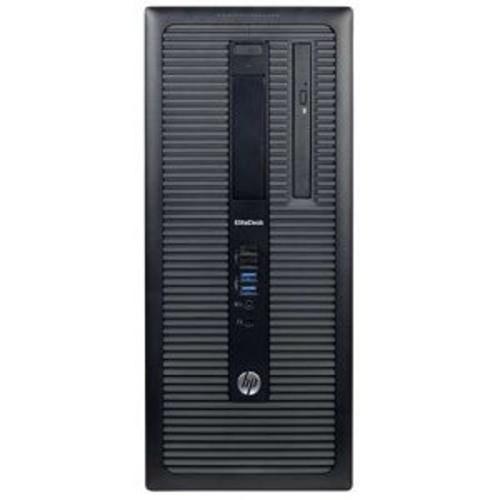 HP EliteDesk 800 G1 Desktop - Intel Core i5-4570 Quad-Core 3.2GHz CPU, 16GB DDR3 RAM, 2TB HDD, Integrated Graphics, DVD-ROM, 4x USB 3.0, Windows 10 Pro 64-bit, 1 Year Warranty, Refurbished - PC2-0962