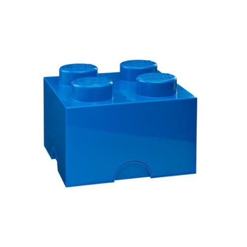 LEGO Storage Brick 4-Stud Bright Blue