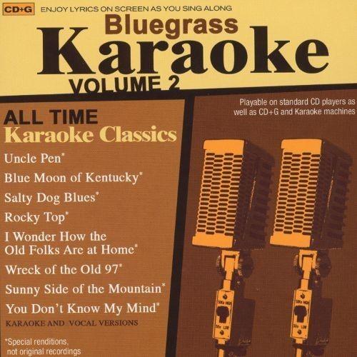 Bluegrass Karaoke, Vol. 2 [CD]
