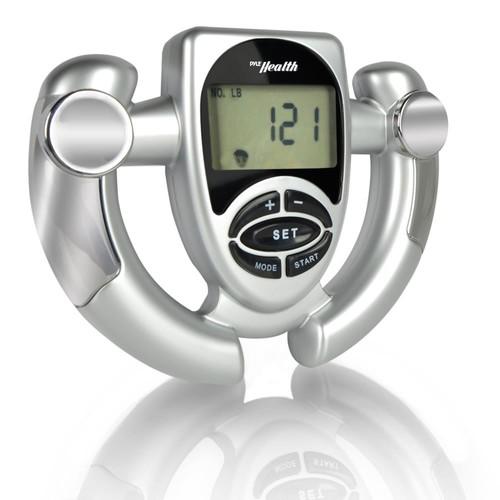 Pyle Health Fat Loss Monitor Digital Handheld BMI Monitor, 0.81 Pound