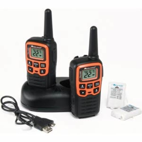 MIDLAND T-51VP3 X-TALKER GMRS TWO-WAY RADIO W/ CLEAR BAND TECHNOLOGY UP TO 28 MILE RANGE