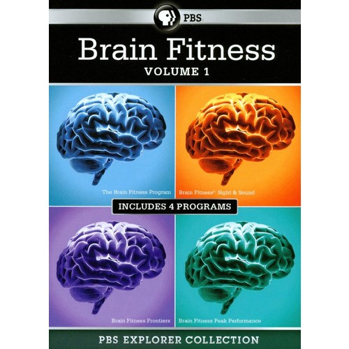 PBS Explorer Collection: Brain Fitness, Vol. 1 [4 Discs] [DVD]