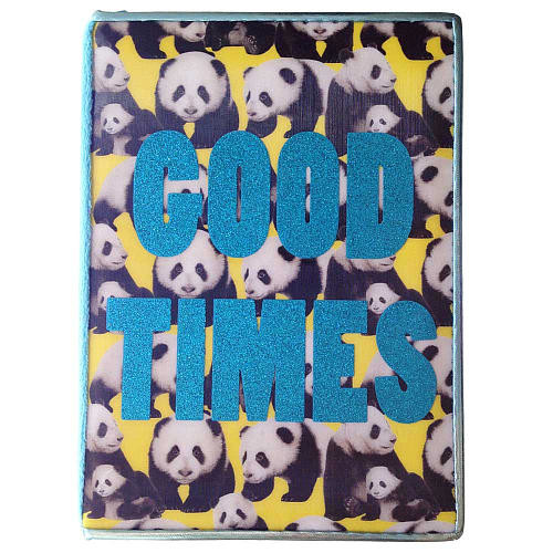 Fashion Angels by Style Lab Photo Real Panda Print Journal - GOOD TIMES
