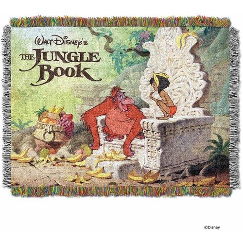 Disney The Jungle Book King Louie Tapestry Throw
