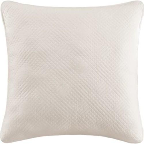 C&F Design Hampton White Euro Sham