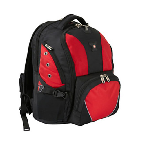 SWISSGEAR SA1592 Backpack, Black/Red