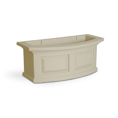 Nantucket 2 ft. Polyethylene Window Box [Clay]