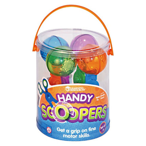 Learning Resources Handy Scoopers - Theme/Subject: Learning, Fun - Skill Learning: Tactile Stimulation, Fine Motor, Eye-hand Coordination, Sensory Perception