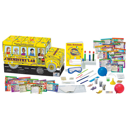 The Young Scientists Club The Magic School Bus Chemistry Lab