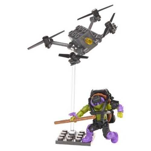 Mega Bloks Teenage Mutant Ninja Turtles - Donnie Drone Pursuit