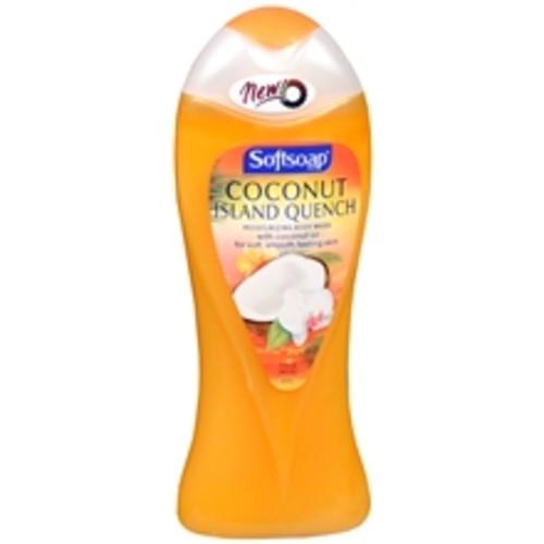 Softsoap Moisturizing Body Wash Coconut Island Quench