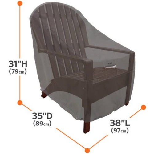 Classic Accessories Ravenna Lounge Chair Furniture Storage Cover For Hampton Bay Spring Haven Wicker Patio Lounge Chairs