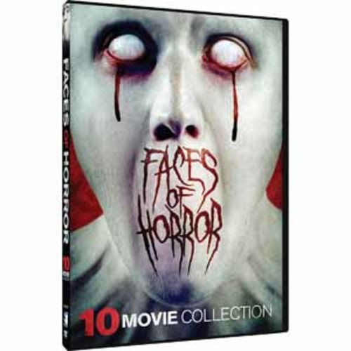 Faces of Horror: 10 Movie Collection [DVD]